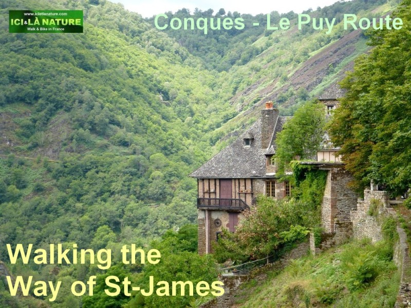 conques le puy route the way of st James
