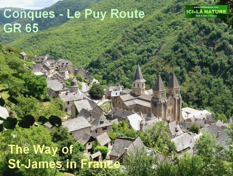 CONQUES WAY OF ST JAMES LE PUY ROUTE