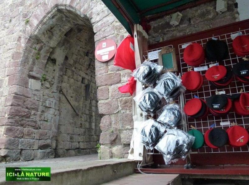 45-camino pyrenees beret basque