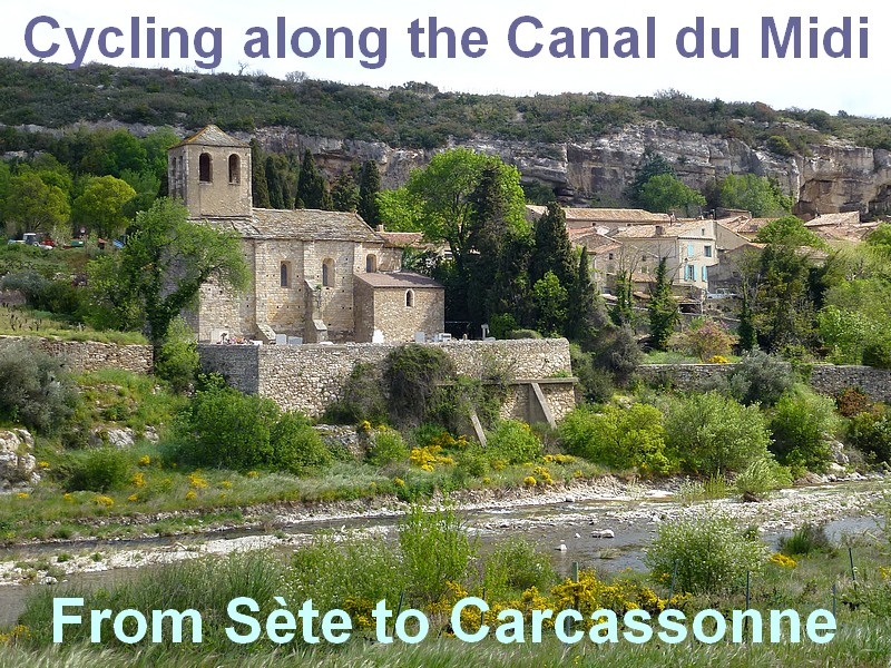 Biking cycling holidays southern france canal du Midi