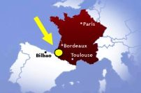 french basque country localisation