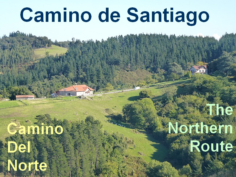 Northern route to santiago camino del Norte