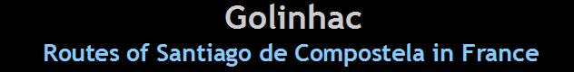 road santiago compostela france golinhac