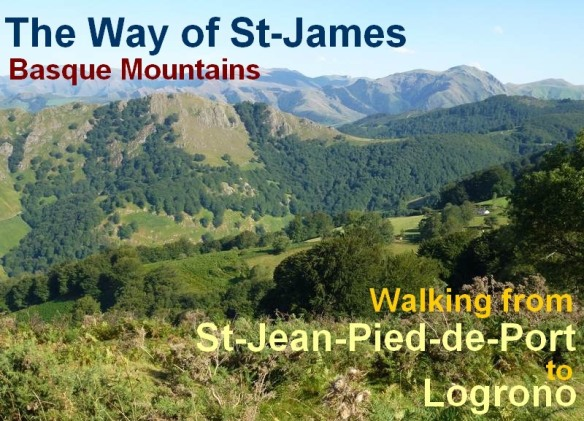 the way of st james from St Jean to Roncesvalles