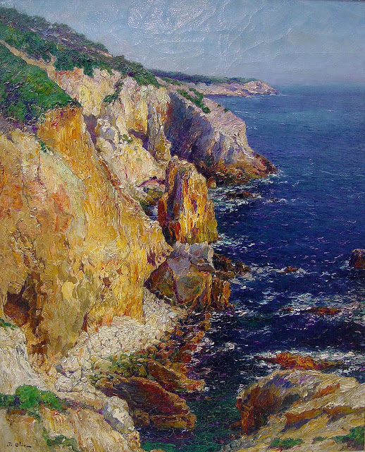 00-Jean Baptiste olive - The Calanque