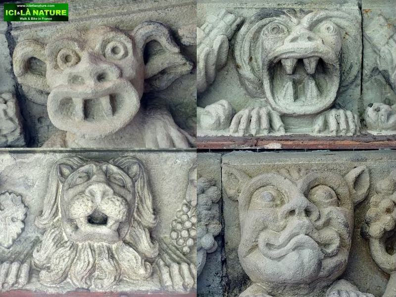17-statues-cloyster-cathedral le puy
