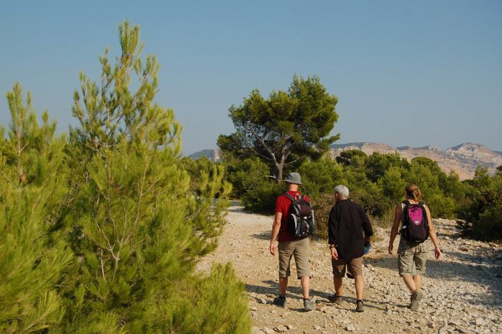 34-walking holidays calanques marseille