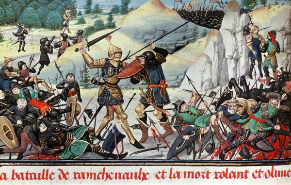 battle of roncevaux and death of roland