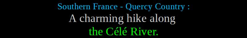 southern france hike ici et la nature