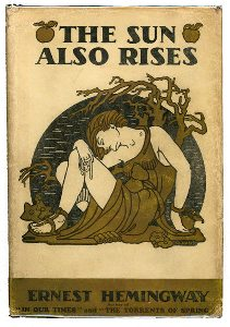 The sun also rises ernest hemingway first edition 1926