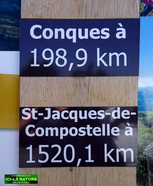 03-st james compostela kilometers indication