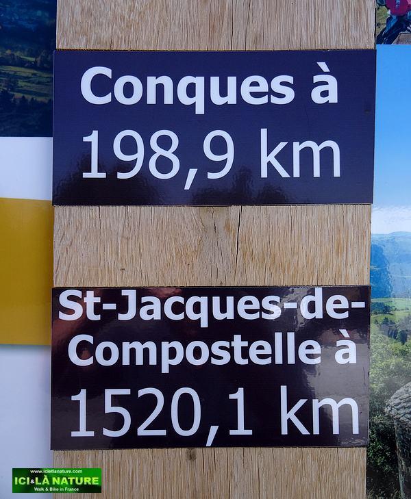 03-st james compostela kilometers indication