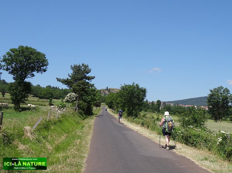 walking the way of st james in france : le puy en velay