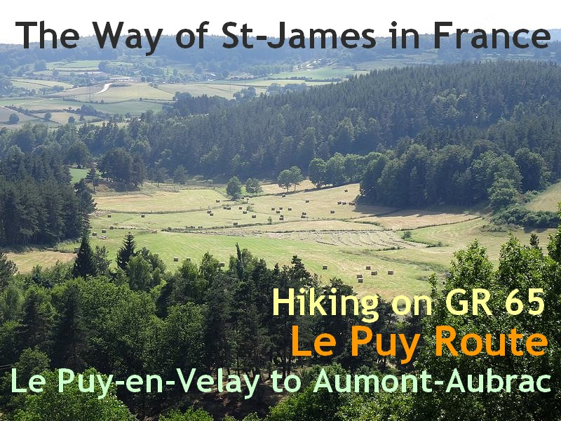 The Way of St james in France le Puy Route