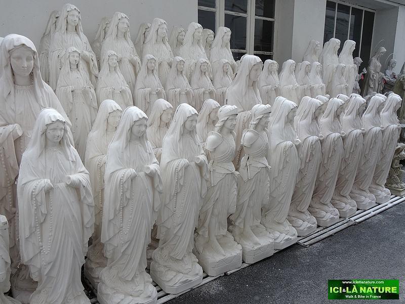 62-lourdes factory religious statues
