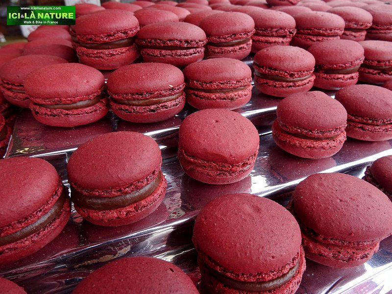 74- french basque macarons