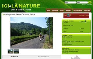 cycling around basque country ici et la