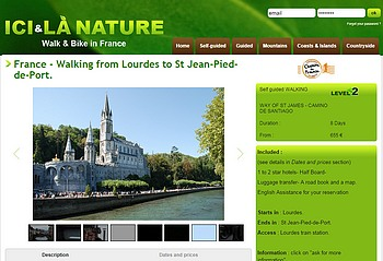 france-way of s-tjames-walking from Lourdes saint jean pied de port