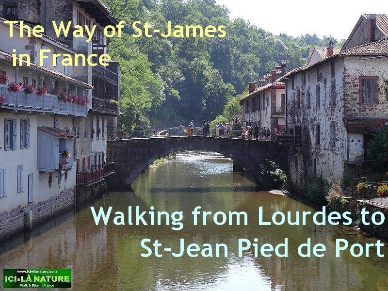 the way of st-james in france from Lourdes to st jean pied de port