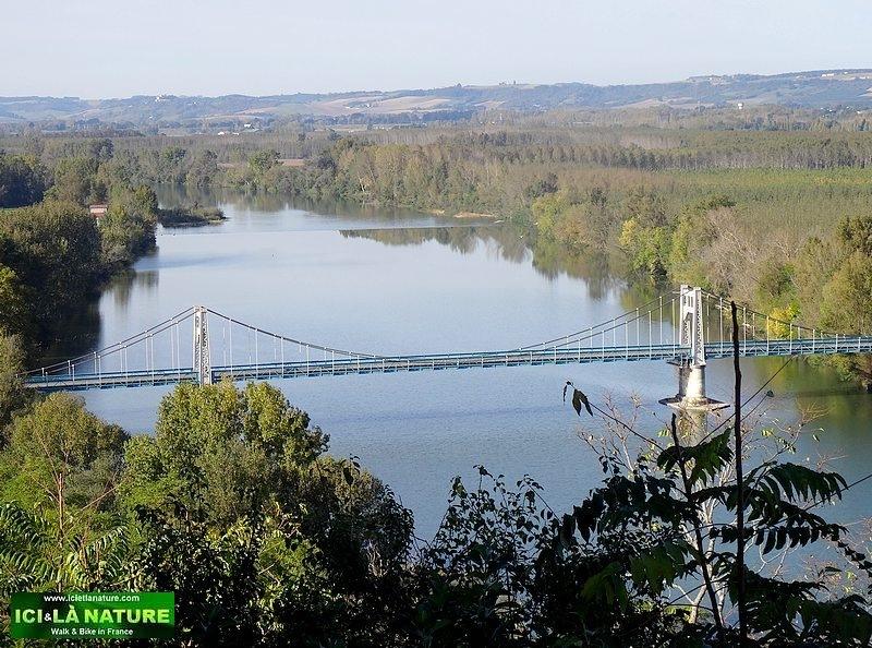 10-auvillar Way Saint James camino frances Cahors Lectoure