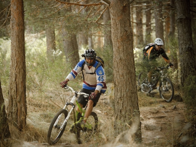 Mountain Biking sierra de guadarrama madrid