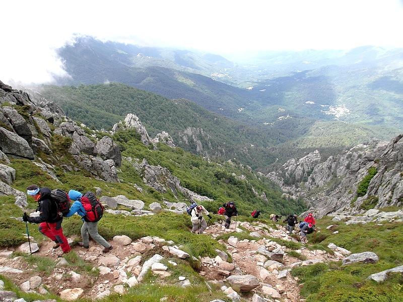 12-trek hike holidays corsica