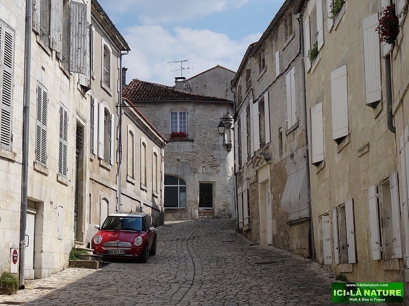 France-Charente-Cycling tour around Cognac.