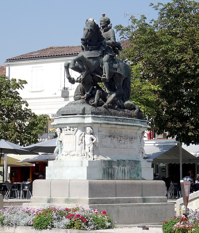 93-statue francis 1 cognac