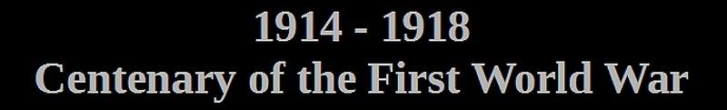 australia centenary of the first world war 1914 - 1918
