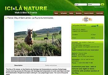 France-Way of Saint James-LePuy to Aumont-Aubrac