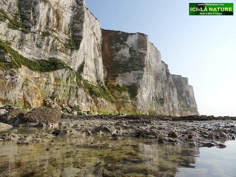 37-walking sea front cliffs normandy