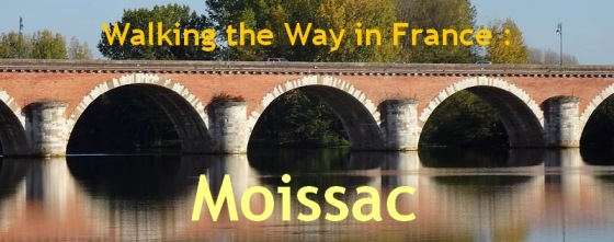 Walking Camino Way in France-Moissac