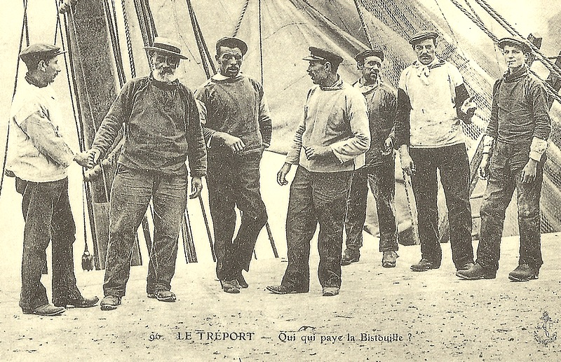 50-fishmen le treport normandy