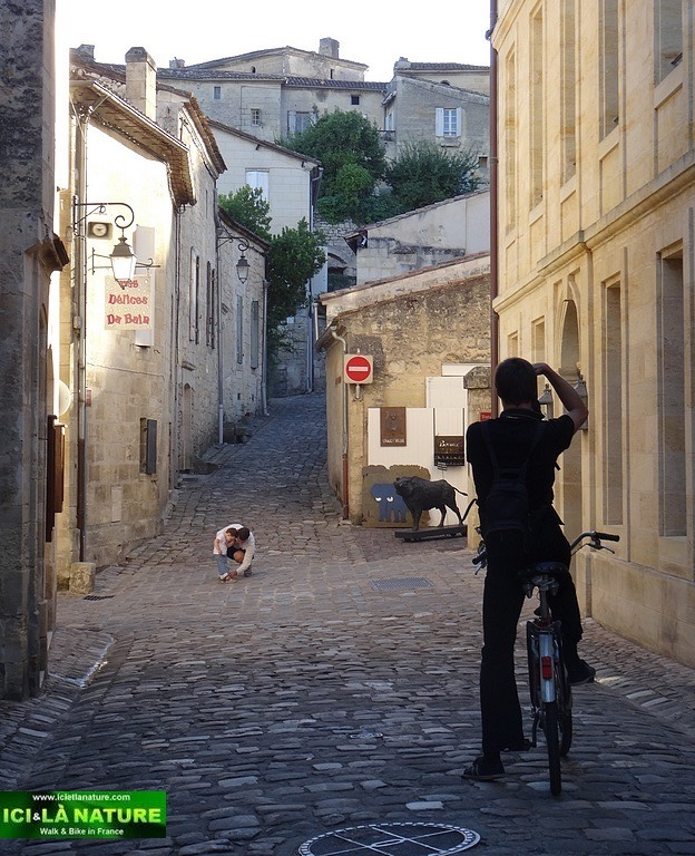 Saint-Emilion : Biking and Walking around Bordeaux High Class vineyards.