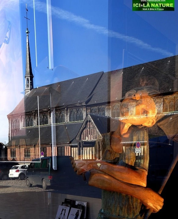42-honfleur normandy sainte catherine church