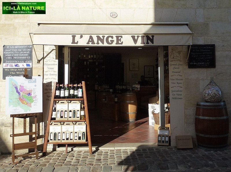 47- l' ange vin saint emilion south france biking