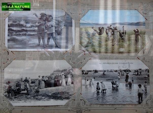 59-art gallery old postcard honfleur  normandy