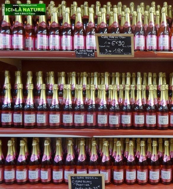 73-normandy coast specialities rosé cider
