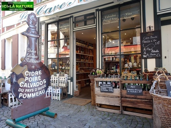 81-normandy specialities shop honfleur