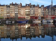 honfleur normandy coast