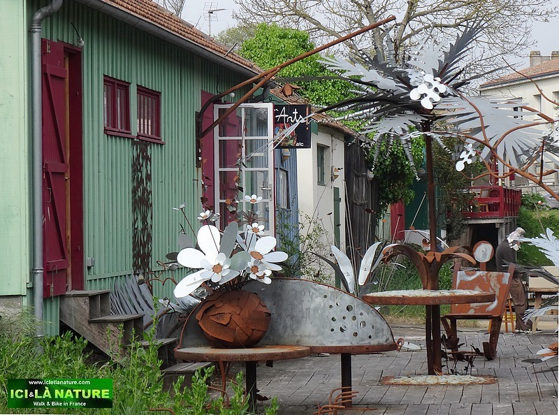 19-ile oleron sculptures metal