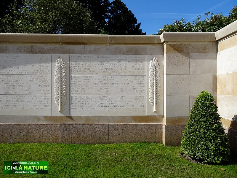 45-garden of the missing normandy cemetery