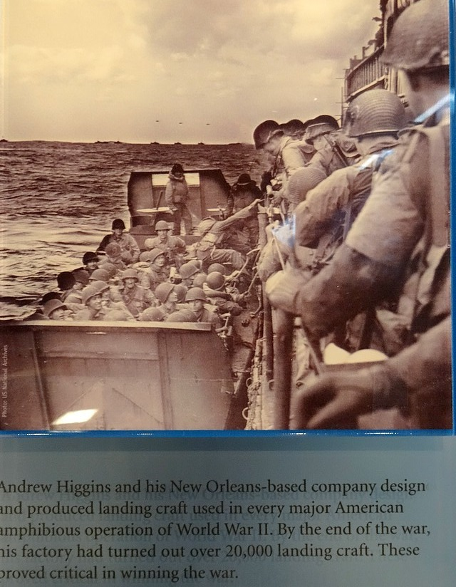 52 landing craft -andrew higgins company new orleans