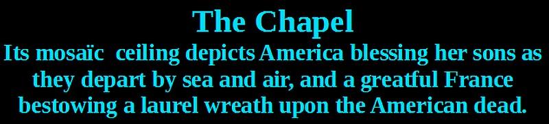 chapel american normandy cemetery