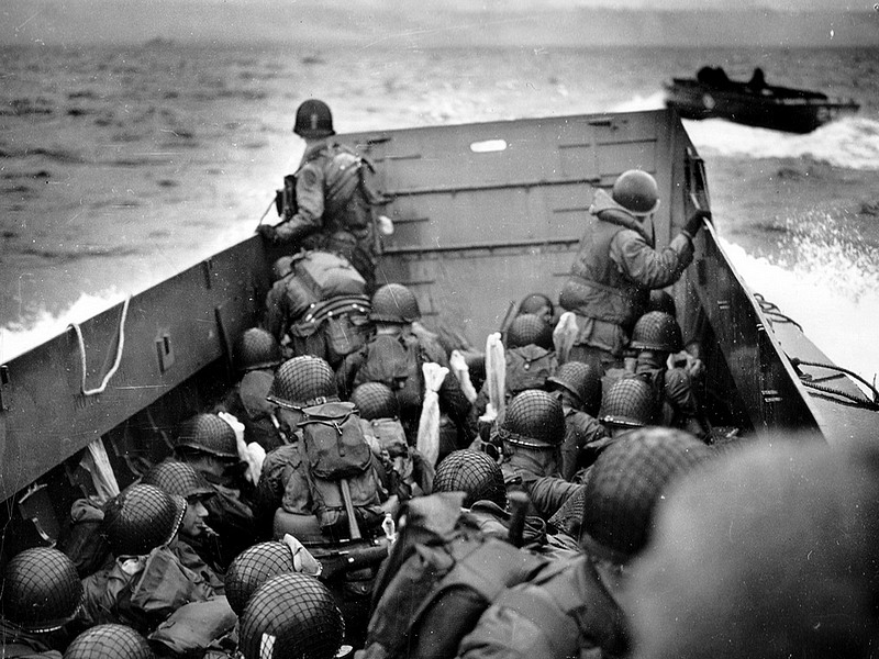 us  soldiers omaha beach