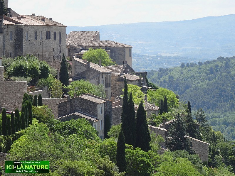 01-cycling in Provence-gordes-luberon