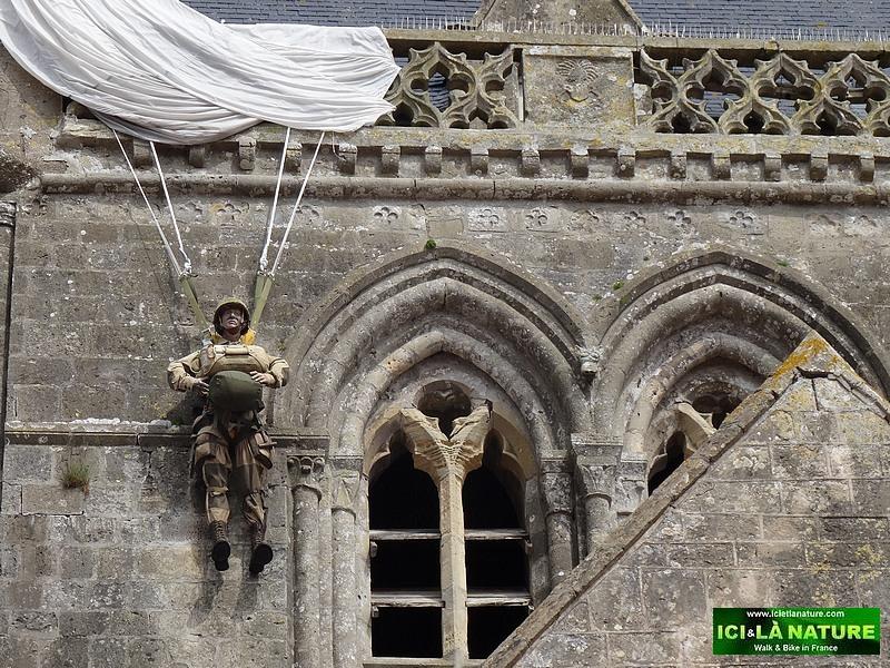 03-us airborne john steele church saint mère eglise