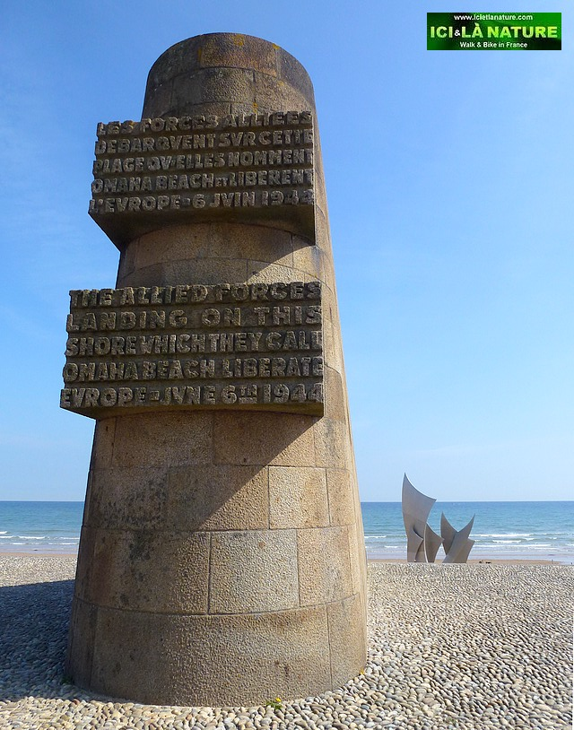05-omaha beach allied monument