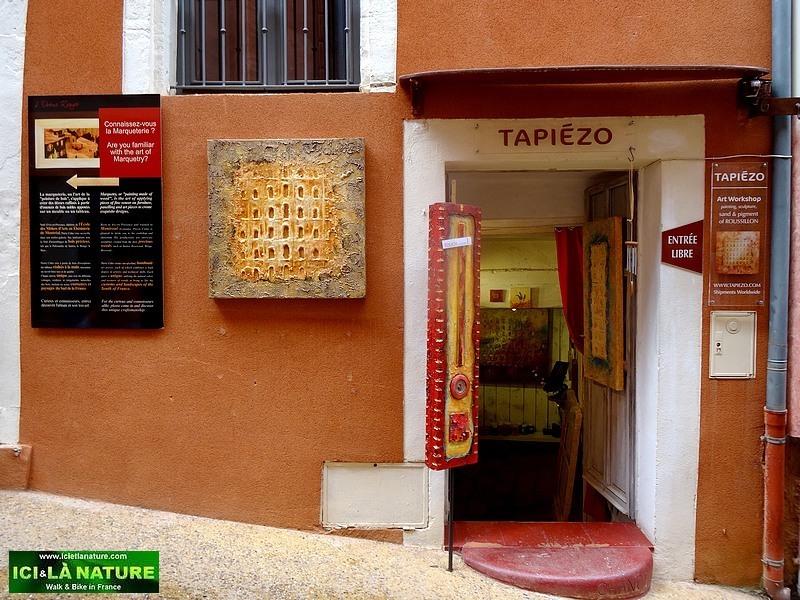 06-art shop tapiezo roussillon provence