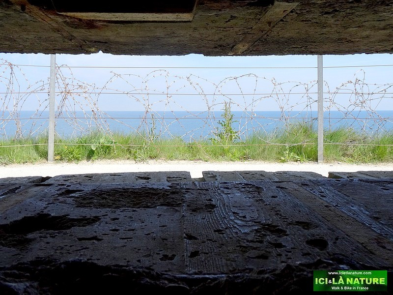 10-into a german bunker normandy atlantic wall